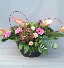 bloemstuk-roze
