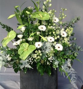 bloemstuk-wit