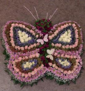 rouwarrangement-vlinder